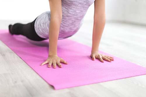 Yoga doe je bij voedingscoach Fit ben Jij!